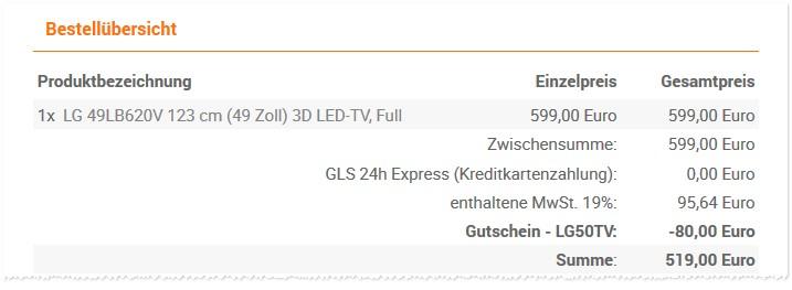 LG 49LB620V Erfahrungen