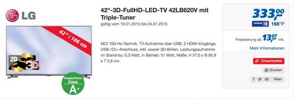 LG 42LB620V Fernseher