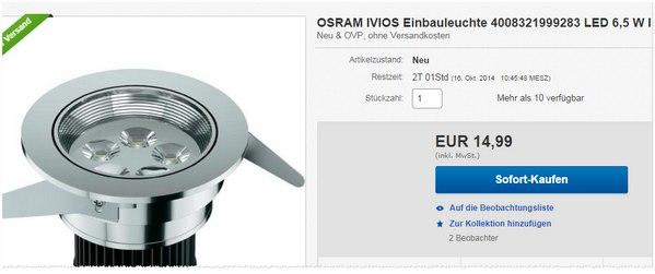 Osram IVIOS LED-Downlights