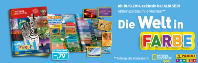 Panini Sticker ALDI Süd gratis