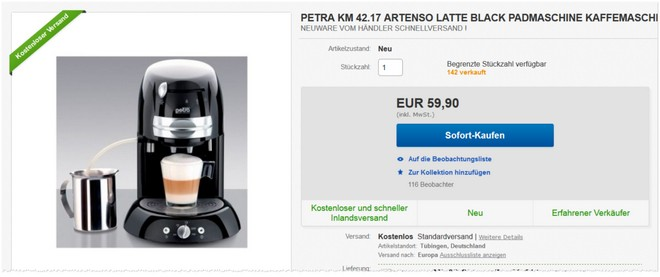 Petra Electric KM 42.17 Artenso Latte