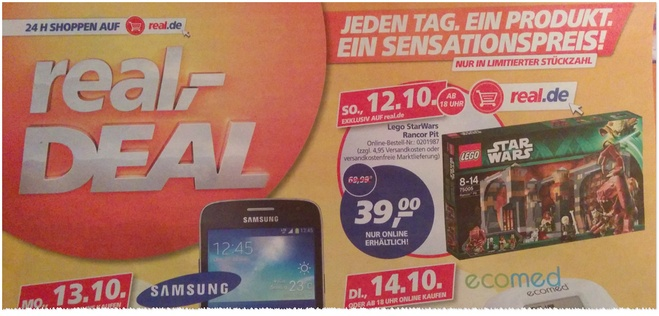 Real Deal des Tages 13.10.2014