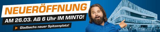 Saturn Eröffnung Minto-Mönchengladbach