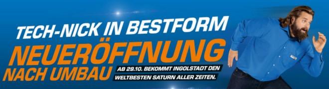 Saturn Neueröffnung Ingolstadt 29.10.2014