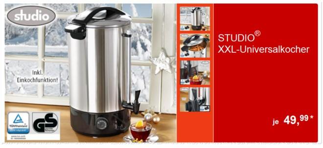 Studio XXL Universalkocher