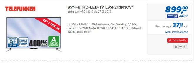 Telefunken L65F243N3CV1