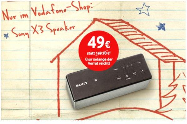 Sony SRS-X3 NFC im Vodafone-Shop