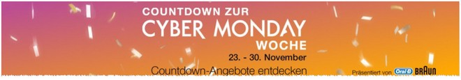 Amazon Cyber Monday Countdown 2015
