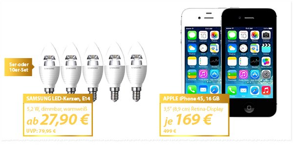 Apple iPhone 4S B-Ware bei MeinPaket