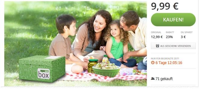 Brandnooz-Gutschein für die Picknick- & Grill-Box bei Groupon
