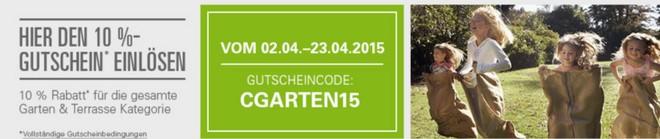 eBay Grill-Gutschein Aktion für Garten&Terrasse