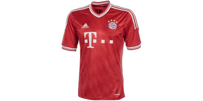 FC Bayern München Heimtrikot der Saison 2013/14