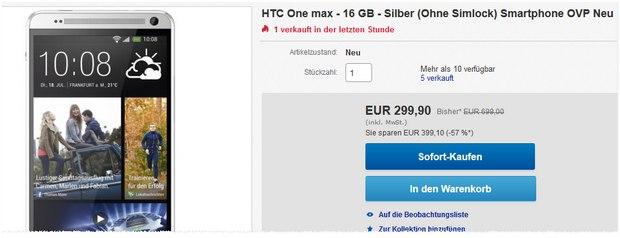 HTC One Max kaufen
