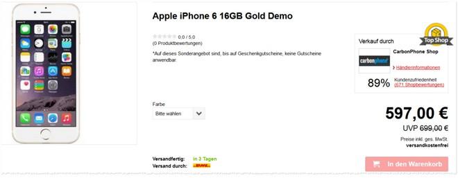 iPhone 6 B-Ware
