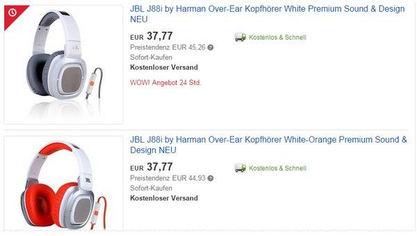 JBL J88i Angebot