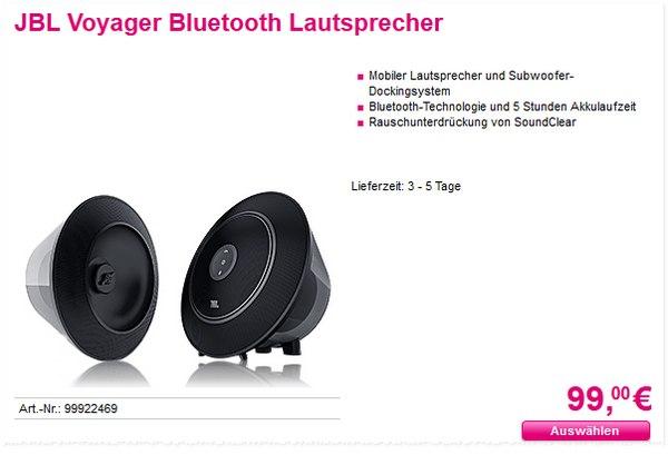 JBL Voyager als Telekom-Aktion für 99 €