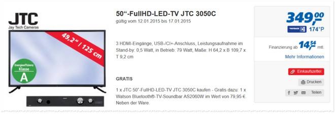 JTC 3050C Test