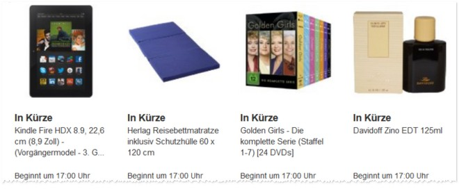 Kindle Fire HDX Angebot