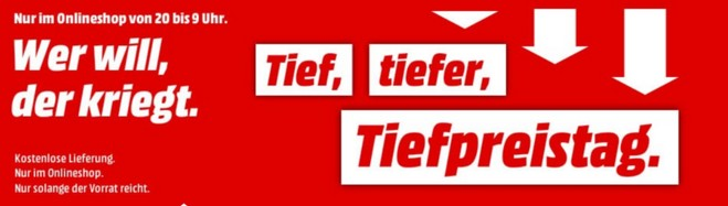Media Markt Tiefpreistag