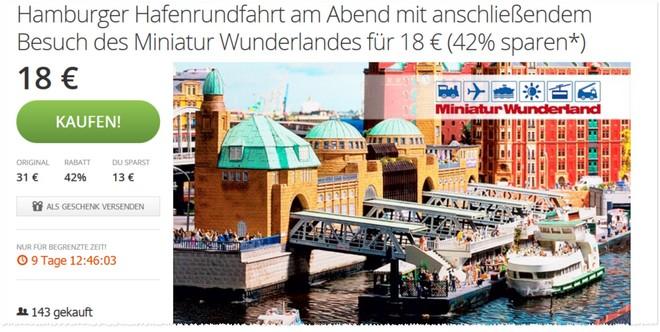 Miniatur Wunderland Gutschein bei Groupon