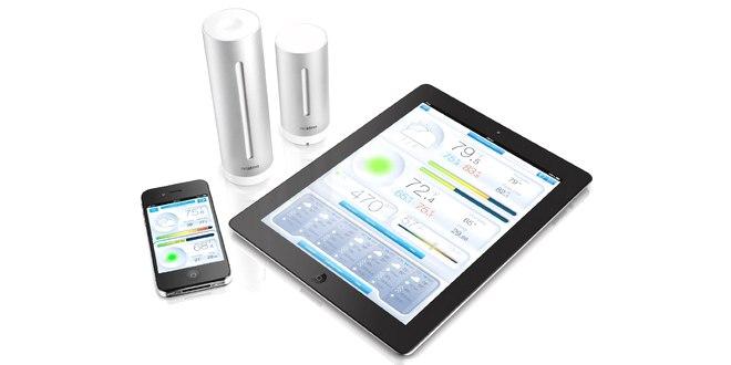 Netatmo Wetterstation für iPhone und Android