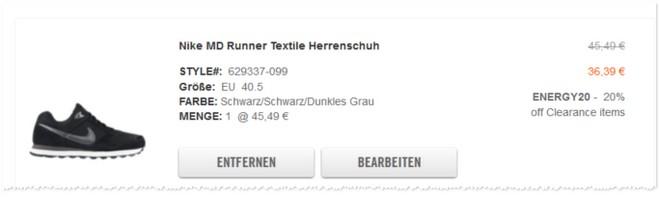 Nike MD Runner Angebot
