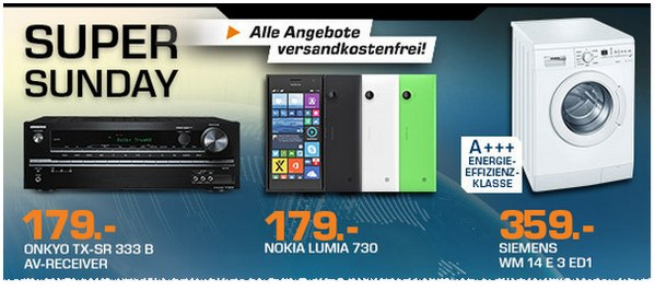 Nokia Lumia 730 als Saturn Super Sunday Angebot