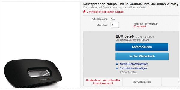Philips Fidelio Soundcurve DS8000W