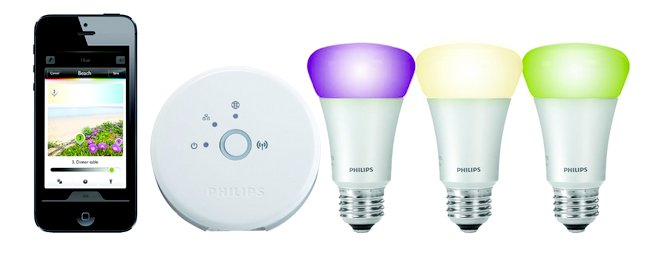 philips hue wlan led lampen set f r 155. Black Bedroom Furniture Sets. Home Design Ideas