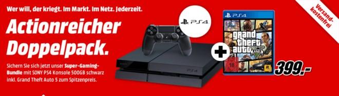PS4 GTA5 Media Markt