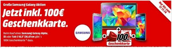 Samsung Galaxy S5 100 € billiger bei Media Markt und Saturn