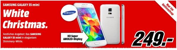 Samsung Galaxy S5 mini in Weiß für 249 €