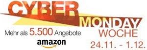 Amazon Cyber Monday Woche Vorschau