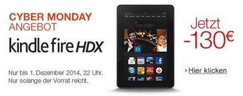 Kindle Fire HDX für 99 €