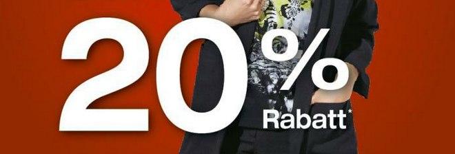 Ulla Popken Lagerverkauf mit 20% Jacken Rabatt