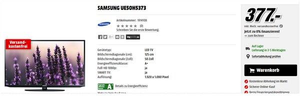Samsung UE50H5373 bei Media Markt