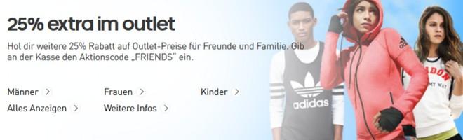 Adidas Outlet Gutschein