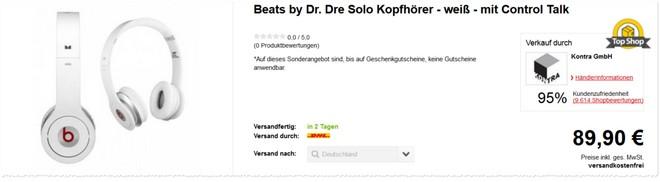 Beats Solo Kopfhörer