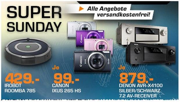 Canon IXUS 265 HS als Saturn-Angebot für 99 €