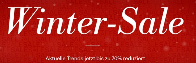 Fashion ID Winter Sale mit bis zu 70% Rabatt