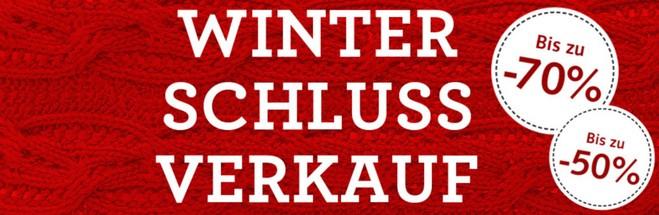Hessnatur Winterschlussverkauf 2015