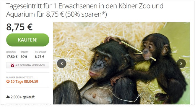 Tickets Kölner Zoo
