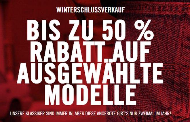 Levi's Winterschlussverkauf
