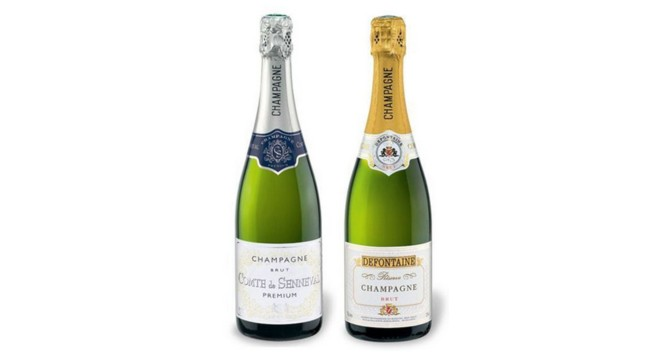 LIDL Champagner Paket
