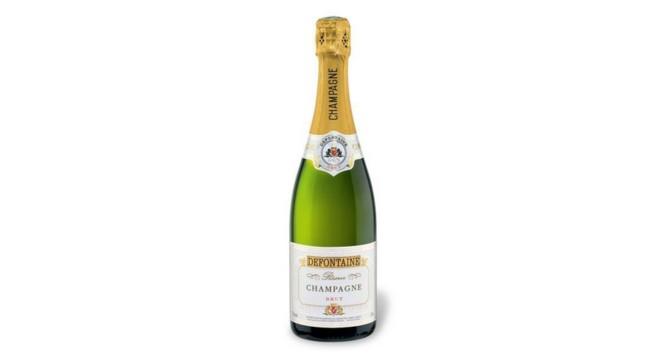 LIDL Champagner