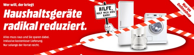 Media Markt Abverkaufsaktion 2015