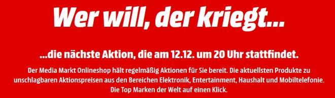 Media Markt Tiefpreis-Tag