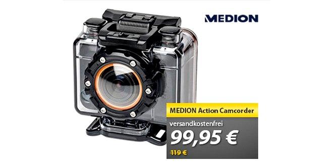 Medion Action-Cam für 99,95 €