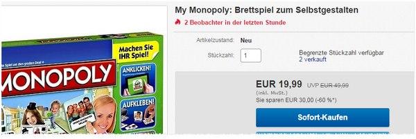 My Monopoly Preis