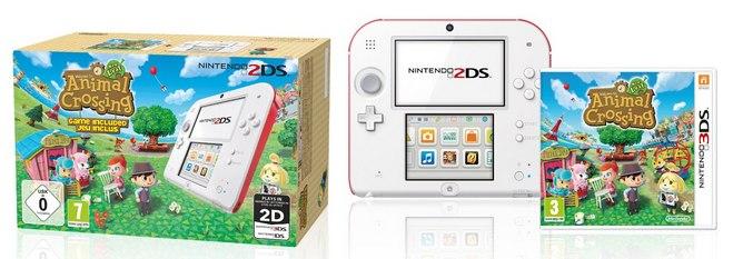 Nintendo 2DS mit Animal Crossing
